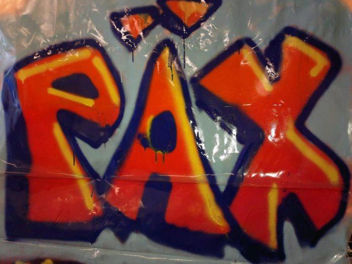 K18 graffitipaja